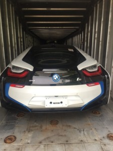 Enclosed Car Shipping Trailer